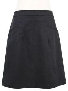 Nine West Womens Solid Skirt Black