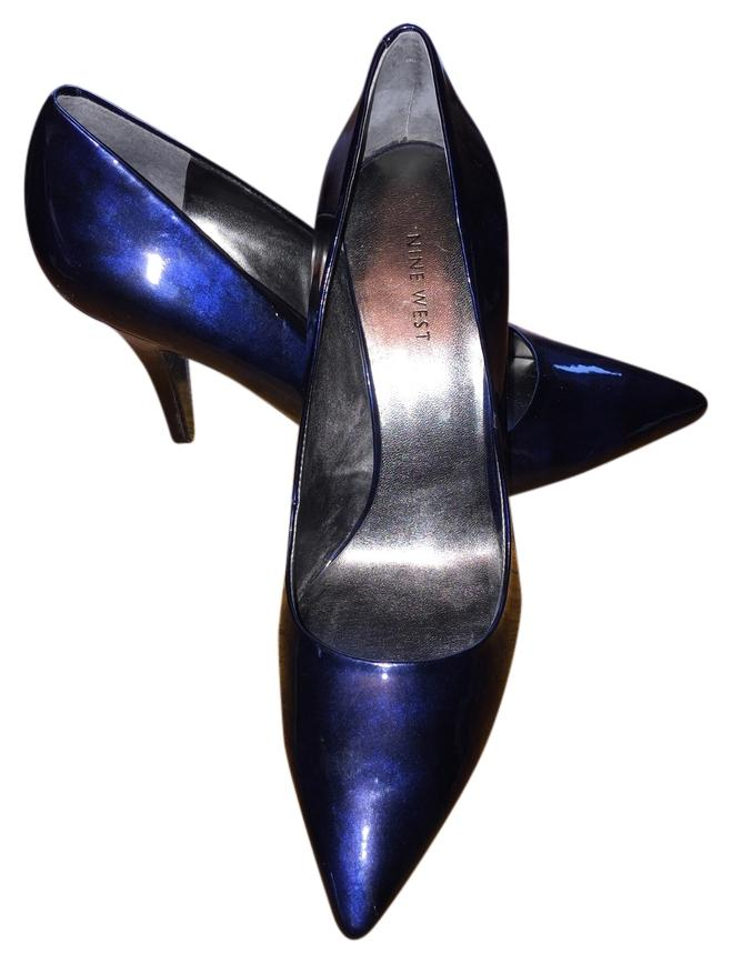 Nine West Blue Madewell Pumps Size US 10.5 Regular (M, B)