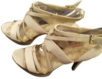 Nine West Shimmery off white beautiful shoes Platforms
