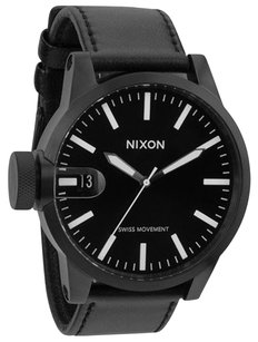 Nixon Black Nixon The Chronicle Watch A127-001