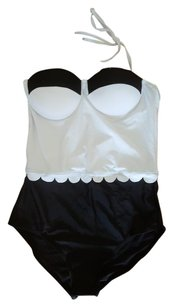 None New, never worn black and white one piece bathing suit