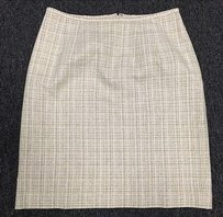 Norton McNaughton Silk Blend Tweed 882 Skirt Multi-Color