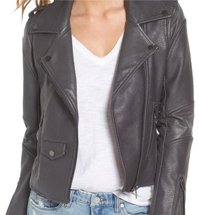 nwt blanknyc gray leather jacket gray Leather Jacket