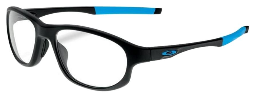 5bccc76216 ... purchase oakley ox8048 0154 crosslink strike mens black frame clear  lens eyeglasses c5e31 7263e