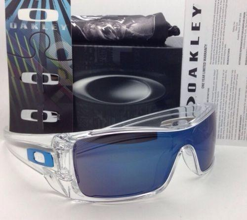 earsocks for oakley straight jacket 6ysj  oakley batwolf clear ice iridium