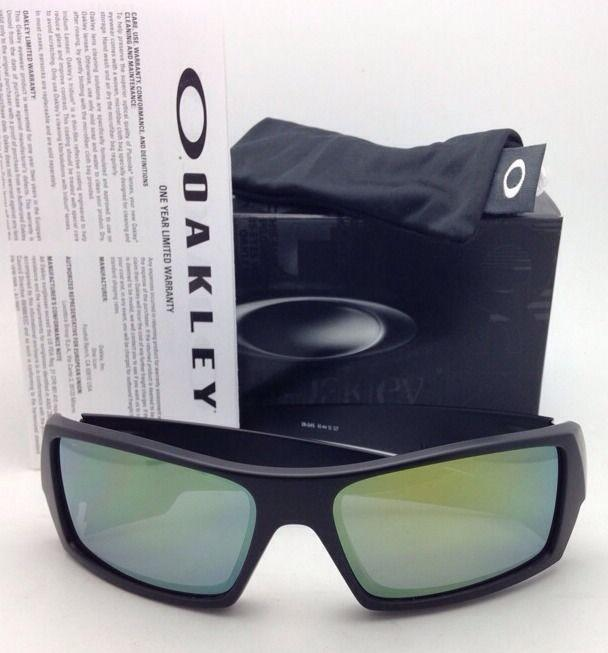 new oakley lenses  Oakley New OAKLEY Sunglasses GASCAN 26-245 60-15 Matte Black Frame ...