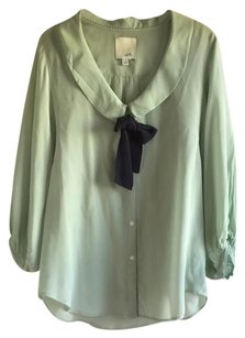 Odille Anthropologie Top Mint