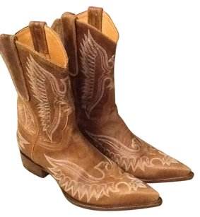 Old Gringo Cowboy Brown Boots