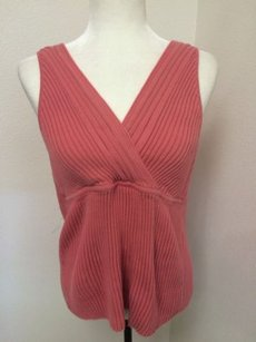 Old Navy Sleeveless Sweater Top Pink