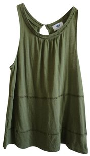 Old Navy Olive Summer Peasant Top Olive Green