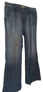 Old Navy Trouser/Wide Leg Jeans-Medium Wash