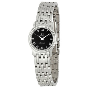 Omega DeVille Prestige Quartz Ladies Watch OM4570.52