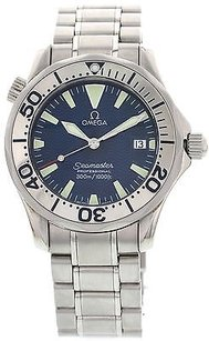 Omega Mens Omega Seamaster Stainless Steel Watch