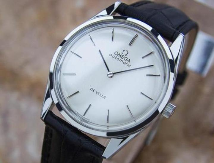 omega deville mens vintage automatic stainless watch swiss made omega omega deville mens vintage automatic stainless watch swiss made 1960 p4