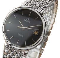 Omega Omega Deville Quartz Round Swiss Made Mens Dress Watch C 2000 484