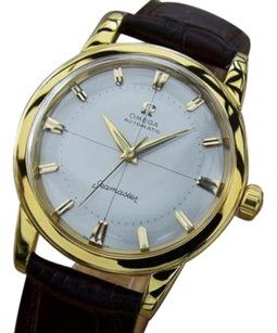 Omega Omega Seamaster 1960s Calibre 500 Auto Mens Gold Plated Vintage Swiss Watch Mx13