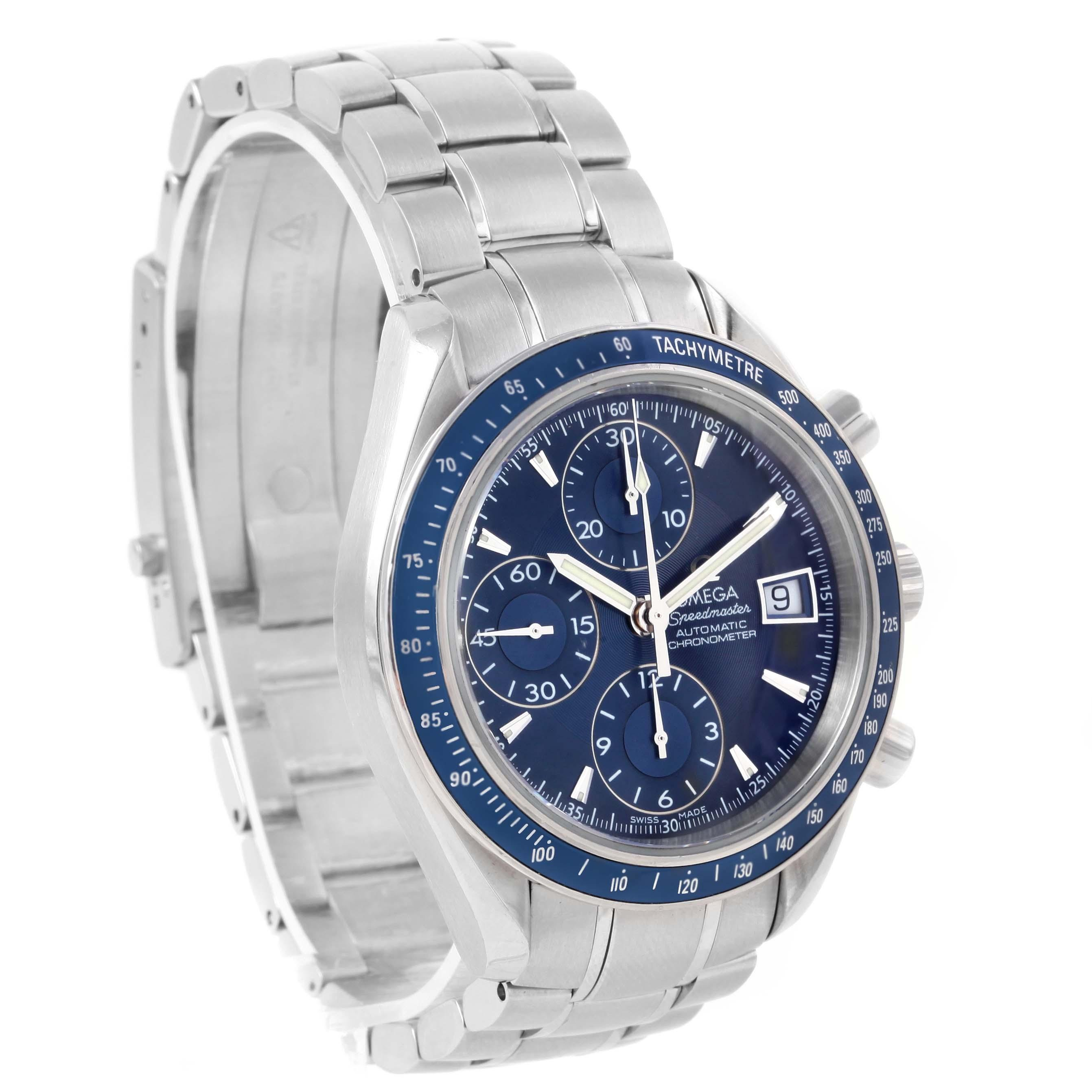 omega speedmaster date chronograph review Get discounted omega speedmaster watch prices and speedmaster mark ii co-axial chronograph speedmaster moonphase co-axial master stay up to date on.