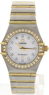 Omega Ladies Omega Constellation 18k Yg Ss Diamond 1267.75.00