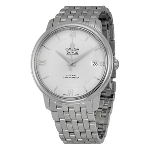 Omega Prestige Co-Axial Automatic Silver Dial Stainless Steel Men's Watch
