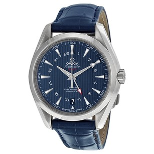 Omega Seamaster Aqua Terra Blue Dial GMT Men's Watch OM23113432203001