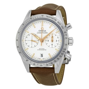 Omega Speedmaster Chronograph Silver Dial Automatic Men's Watch