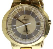 Omega Vintage Omega Dynamic Mens Watch Gold plated.