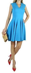 On57 New York short dress turquoise blue on Tradesy