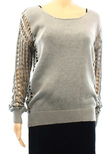 One Grey Day 100% Mercurized Cotton Sweater