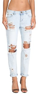 One Teaspoon Distressed Denim Relaxed Fit Jeans-Distressed