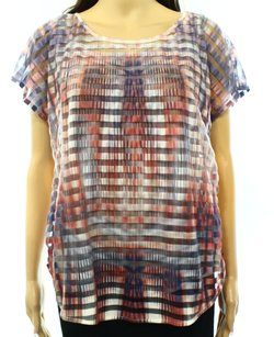 One World 100-polyester 5330010b43 Batwing 3400-0271 Top
