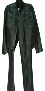 ORRIN CREATIONS ORRIN CREATIONS LEATHER JEAN STYLE SUIT SIZE 9/10