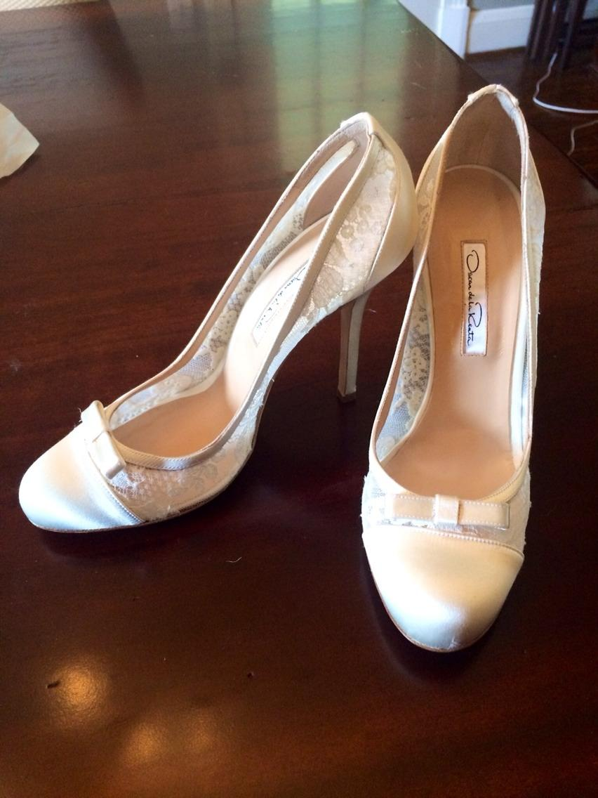 oscar de la renta wedding shoes oscar de la renta bridal weddings used oscar de la renta 6314