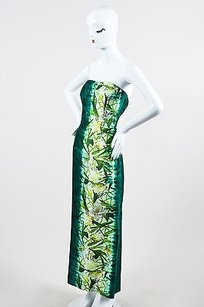 Green Maxi Dress by Oscar de la Renta