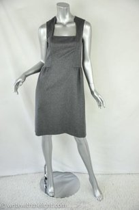 Oscar de la Renta short dress Gray Womens on Tradesy