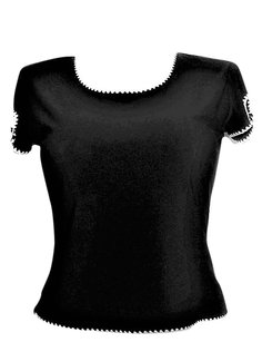 Oscar de la Renta Top Black