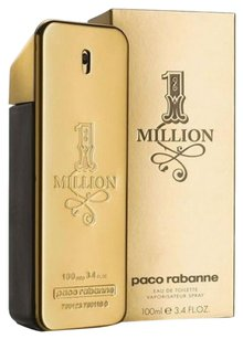 1 MILLION by PACO RABANNE EDT Spray for Men ~ 3.4 oz / 100 ml