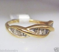 Other 10k Yellow Gold Baguette Diamonds Ladies Ring 6.75