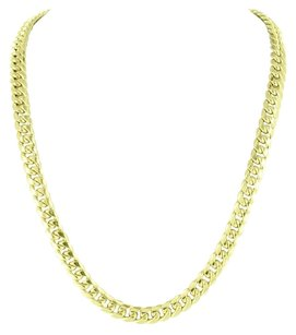 Other 10k Yellow Gold Necklaces Miami Cuban Mens Inches Mm Classy