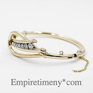 14k Gold 1.03ct Diamonds Bracelet