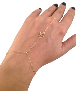 Other 14k Gold Hamsa Hand Chain