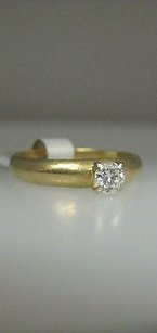 Other 14k Yellow Gold Diamond Band Ladies Ring