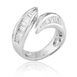 18k White Gold 1.22ct Diamond Ring Grams Ring