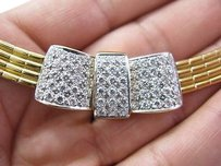 Other 18kt Designer Cluster Diamond Locket Necklace Yellow Gold 3.18ct