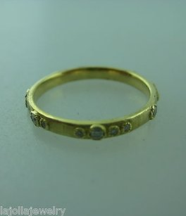Other 20k Yellow Gold Diamond Band Ladies Ring