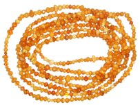 92 inch's Of Real Amber, No Clasp