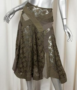 Other Junya Watanabe X Comme Des Garcons Womens Sheer Lace Skirt Green