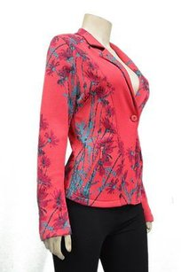 Other Aldomartins Redgreen Floral Print Knit Blazer Jacket 200645e