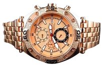 Other Aqua Master Jojo Joe Rodeo Rose Gold Tone Mm W351 Genuine Diamond Watch