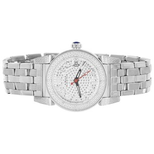 Aqua Master Watch Genuine Diamonds Stainless Steel International Warranty Ladies
