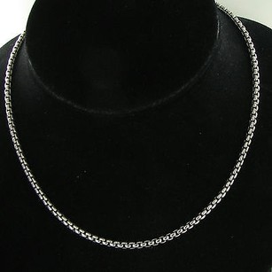 Other Arista Knxtl 18 3.6mm Venetian Box Chain Sterling Silver